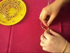 Kraf Kreatif : bead craft - a table mat - 			 			   - http://carajahitanmanik.com/kraf-kreatif-bead-craft-a-table-mat/