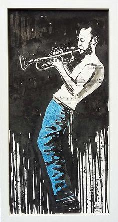 Miles Davis Tusche Miles Davis
