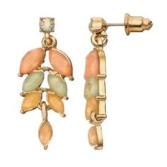 LC+Lauren+Conrad+Marquise+Drop+Earrings - COLOR INSPIRATION