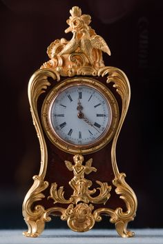 Faberge Miniature Clock