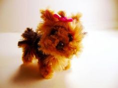 Pipe cleaner Yorkie!