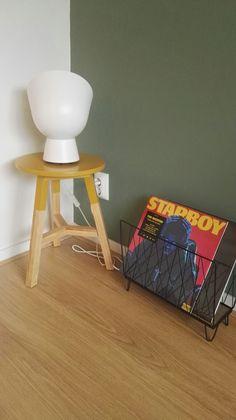 Sostrene Grene tijdschriftenhouder met Vinyl platen #dye #platen #vinyl #sostrenegrene #kwantum #ikea