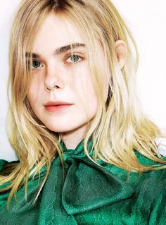 Elle Fanning for Sunday Times Style by Aitken Jolly