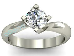 Unusual engagement ring mock up