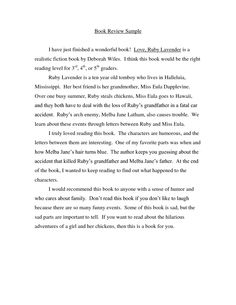 book reviews examples - Google Search | Book reviews | Pinterest ...