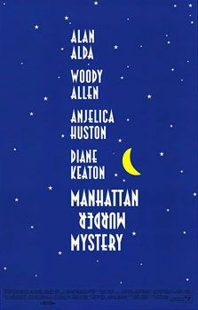 Manhattan Murder Mystery, directed by Woody Allen. HELLO, Awesome!