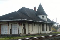 Orange, Texas ~ historic railroad depot