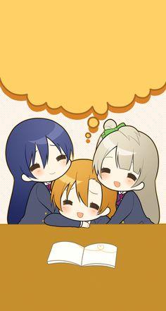 Umi, Kotori, & Honoka | Love Live