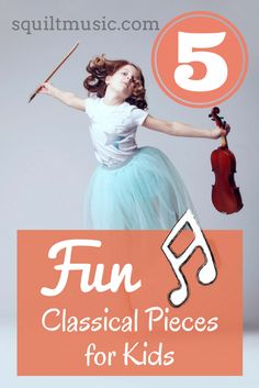 Music resource for homeschool families | 5 Fun Classical Pieces for Kids