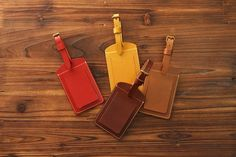 3842 Classic Luggage tag Buttero by HEVITZ on Etsy