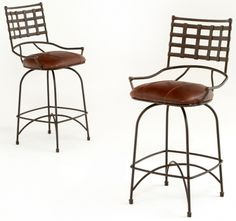 Industrial Chic Stool 1 Leather The Refuge Lifestyle Exquisite Handcrafted Rustic Furniture