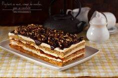 Parfait, My Favorite Food, Favorite Recipes, Romanian Food, Diabetic Friendly, Cake Shop, Sweets Recipes, Something Sweet, Chocolate