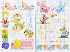 apina scrive con pennello                - magiedifilo.it punto croce uncinetto schemi gratis hobby creativi