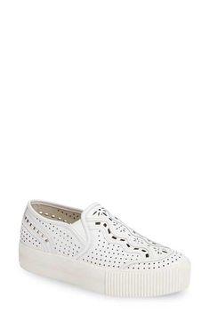 Ash Kingston Perforated Platform Sneaker (Women) Nordstrom Website fc6d42b9d0