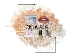 """""""Metallic makeup!!!!💋💄"""" by novastar111 ❤ liked on Polyvore featuring beauty, Dolce&Gabbana, Lime Crime, Anastasia Beverly Hills and OPI"""