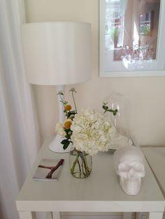 Skulls and flowers. Jewelry displays at acj Studio.  www.anacavalheiro.com #gems, #jewelry studio #jewelry displays # jewelry inspiration # jewelry tools