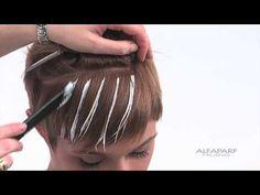 Alfaparf Milano USA - Supermeches+ Bleaching Technique #5: Sunray surface lighting technique