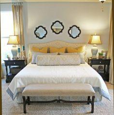 Guest Bedroom 2 Walls Graystone Benjamin Moore 1475
