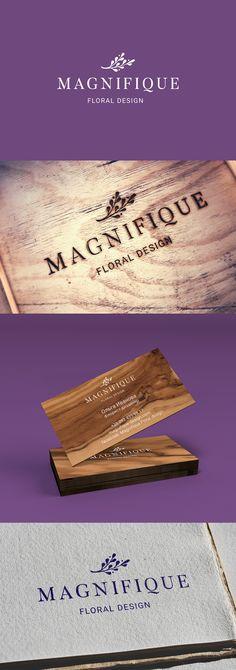 Логотип разработан для флористического салона «Magnifique floral design». Флористический салон является уникальным. Каждый букет, каждая работа – это индивидуальная композиция, сочетающаяся с уникальными элементами декора. Это неописуемо сказочные завора…