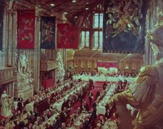 1954 Cuneo, Terence - The Coronation Luncheon the Her Majesty Queen Elizabeth in Guildhall
