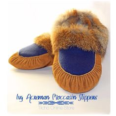 Ivy Acreman Moccasin Slippers, now on sale for $150.
