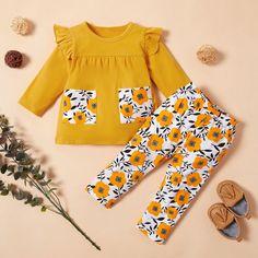New Baby Girls Tops Set Âge 3 6 9 12 18 Mois Bunny Rabbit Floral T Shirt Bundle