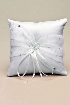 Bow Pillows, Ring Pillows, Throw Cushions, Ring Pillow Wedding, Wedding Pillows, Wedding Dress Quilt, Bed Cover Design, Ring Bearer Pillows, Crochet Cushions
