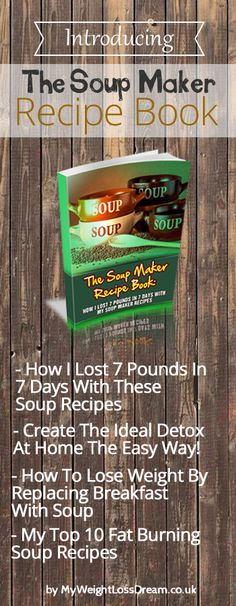 Thank you for taking the time to check out my soup maker recipe book and I am so pleased that you came to find out more about it. Whether you purchase this ebook below or not, we are blessed that you've come over and become part of MWLD's expanding community! #ebooks #weightlosssebooks