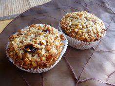Ovesné flapjacky Vegan Treats, Breakfast, Cupcake, Eggs, Fitness, Morning Coffee, Cupcakes, Cupcake Cakes, Egg