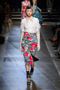 These are all of our favorite looks from London Fashion Week Spring 2018 so far: Erdem
