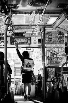 bus ride in #Japan