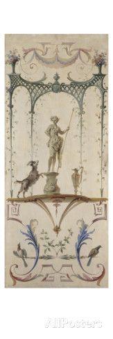 Le Faune Giclee-vedos tekijänä Jean Antoine Watteau AllPosters.fi-sivustossa