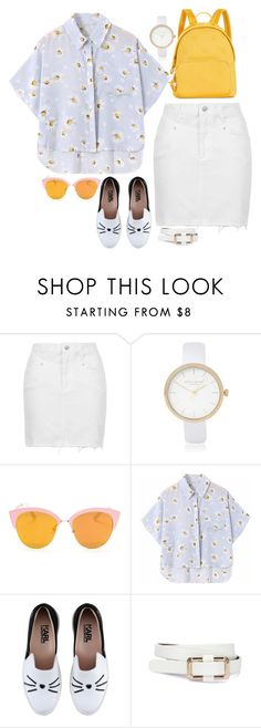 """""""Untitled #561"""" by emmarussell84 ❤ liked on Polyvore featuring Topshop, River Island, Chicnova Fashion, Karl Lagerfeld and Tommy Hilfiger"""