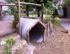Buurtspeelveldje Boxtel, Noord-Brabant - Speelnatuur