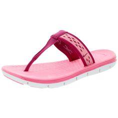 Nike Women's Celso Motion Thong Polarized /Sprt Fchs/White Sandal