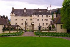 Traquair House (dating back to 1107) is the oldest inhabited house in Scotland