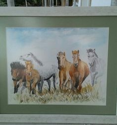 horses watercolor Watercolor Horse, Horses, Painting, Art, Painting Art, Horse, Paintings, Kunst, Paint