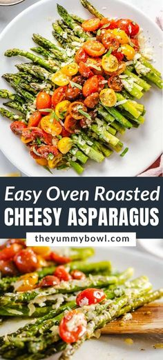 Asparagus With Cheese, Oven Roasted Asparagus, Asparagus Recipe, Heart Healthy Recipes, Healthy Side Dishes, Keto Recipes, Healthy Vegetables, Roasted Vegetables, Veggies