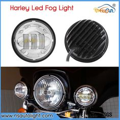 "63.00$  Watch here - http://ali06d.worldwells.pw/go.php?t=32692136892 - ""2pcs 4-1/2"""" 4.5inch Cree led chips Auxiliary Spot Fog Passing Light for Tractor Boat Led Fog Lamps Bulb for Harley Motorcycle"""