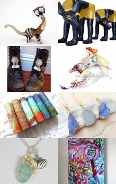 Christmas Collection  by kate reeve on Etsy--Pinned with TreasuryPin.com