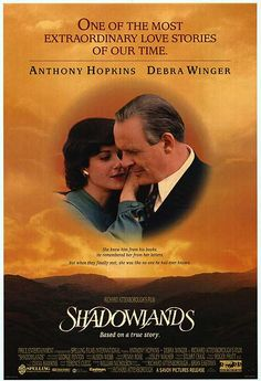 Shadowlands (1993). Very moving and amazing love story, based on the later life of Christian author, C.S. Lewis and how he met his beloved wife and stepson.  (In real life, there were two sons)