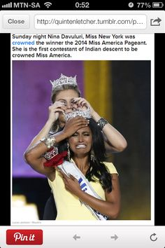 I feel sorry for this poor woman.... She is going to have a tough year ahead judging by how the public reacted to her crowning.