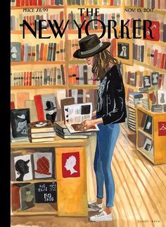 This week's New Yorker cover (Nov 13 2017).