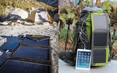 Best Solar Chargers for Backpacking: 4 Top Portable Solar Chargers that Backpackers, Hikers Would Love to Try for Outings Portable Solar Panels, Solar Charger, Alternative Energy, Renewable Energy, Backpacking, Solar Products, Top, Backpacker, Crop Shirt