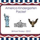 America Kindergarten Packet