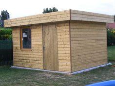 Construction of my garden house – Zeps workshop # construction # garden # shed # work … Storage Shed Kits, Shed Base, Steel Siding, Modern Shed, Large Sheds, Big Garden, Tool Sheds, Construction, Diy Shed