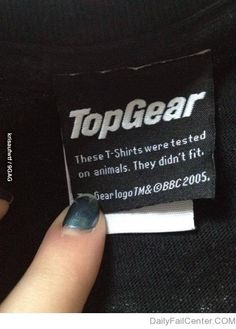 Top Gear humor