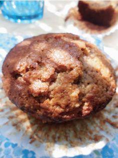 Muffins sin leche y sin huevo