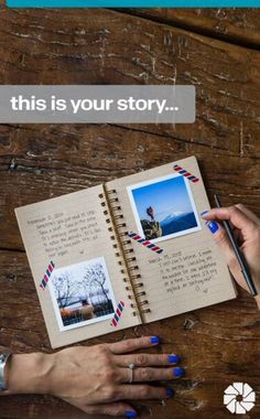 This is your story life book
