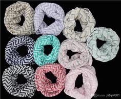 Wholesale Scarves - Buy Fashion Chevron Wave Print Scarf Circle Loop Infinity Scarves , $2.5   DHgate